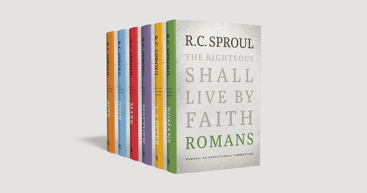 One Week Only Save 50 On R C Sproul S Expositional Commentary Set