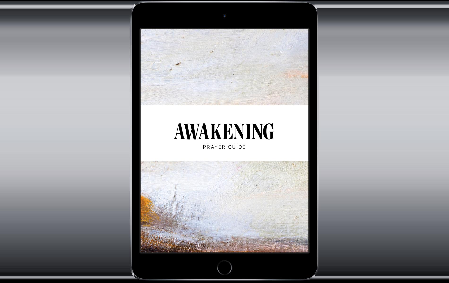 Awakening Prayer Guide