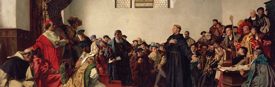 Here I Stand: Luther and Sola Scriptura