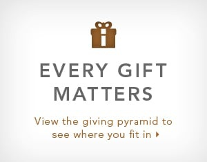 View the giving pyramid to see where you fit in